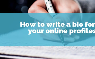 How to write a bio for your website about page